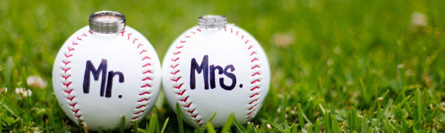 baseball & softball weddings