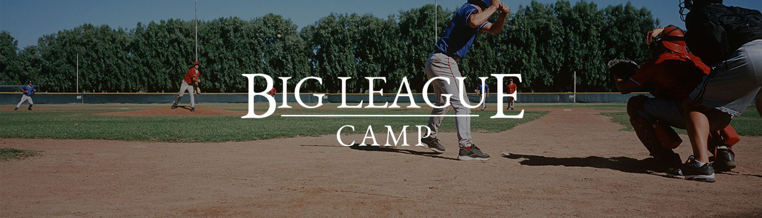 Big League Camp - Baseball & Softball Banner
