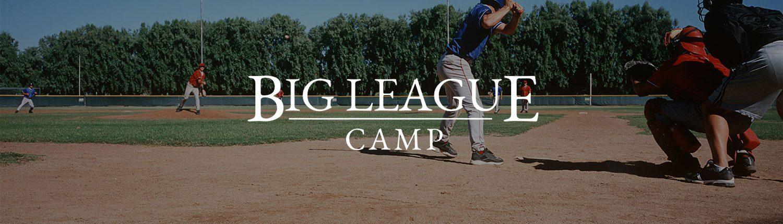 Big League Camp - Baseball & Softball Banner
